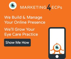 We Grow Eye Care Practices Through A Robust Marketing Program!  We do it all...website development, SEO, PPC, Display, Social Media, and so much more!!!  We get serious results.  Let us show you what we can do.  www.marketing4ecps.com #ecpmarketing #eyecaremarketing #optometristmarketing #optometrymarketing
