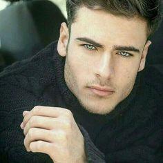 Beautiful Men Faces, Gorgeous Eyes, Male Eyes, Male Face, Face Men, Handsome Faces, Handsome Boys, Male Models Poses, Smart Men
