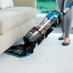 Shop BISSELL CleanView Lift-Off Pet Upright Vacuum Bossanova Blue With Black Accents at Best Buy. Find low everyday prices and buy online for delivery or in-store pick-up. Best Pet Hair Vacuum, Pet Vacuum, Lift Off, Cat Hair, Black Accents, Hair Tools, Vacuums, Cool Things To Buy, Dog Cat