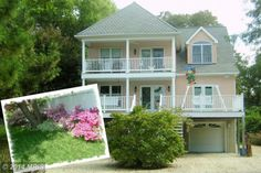 Coastal Style Home on Kent Island in Maryland!  Enjoy beautiful sunsets from the wrap around decks of this great home!
