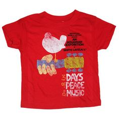 Woodstock Peace and Music Tee $20