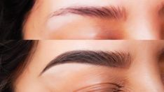 If you have thin and sparse eyebrows, here are some tips and remedies … - MakeUp Beauty Care, Beauty Skin, Beauty Makeup, Hair Beauty, Sparse Eyebrows, Thick Eyebrows, How To Close Pores, Beauty Secrets, Beauty Hacks