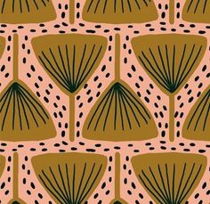 geometric yet organic pattern