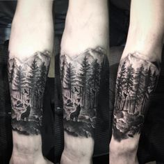 wil forest tattoo by andrea brusadin