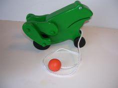 Hoppy Frog Pull Toy