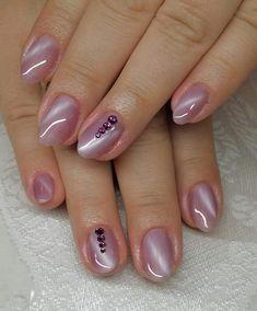 Trendy Gel Nail Art 2019 - style you 7 Pink Gel Nails, Gel Nail Colors, Cute Acrylic Nails, Gel Nail Art, Glitter Nails, Elegant Nail Designs, French Manicure Designs, Nail Polish Designs, Nail Art Designs