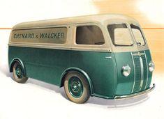 June 1946 Chenard & Walcker Type CHV
