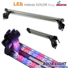 Sklep AQUA-LIGHT.pl POLECA! Znasz oprawy LED INTENSO - ledowe lampki / lampy akwariowe firmy DIVERSA do montażu na otwartym akwarium?  Teraz mamy dla Ciebie te same lampy LED, ale z innym zestawem diod LED. Oprawy ledowe z kolorowymi diodami przystosowane są do akwariów, w których - prócz rybek - są również rośliny akwariowe.   Sprawdź w naszym sklepie aqua-light.pl! Szybka wysyłka, profesjonalna obsługa, niskie ceny! LED, lighting, aquarium, akwarium, lampki roślinne