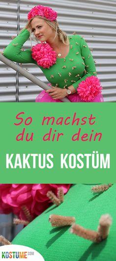 So machst du dir dein Kaktus Kostüm ganz einfach selbst! Auf unserem Blog findest du eine tolle Anleitung zum selber machen - los gehts! bei Kostüme.com // kaktus Kostüm, kaktus kostüm diy, kaktus kostüm selber machen, kaktus kostüm damen #kaktuskostüm