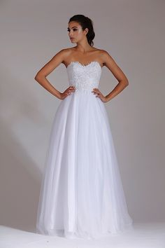 Jadore White find it and other fashion trends. Online shopping for Jadore clothing. White gown with a lace up back and pearl detailed bodice. White Dress Australia, Dresses Australia, White Wedding Dresses, Bridal Dresses, Formal Dresses, White Now, Bridal And Formal, Gowns, Style