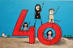 Felices 40
