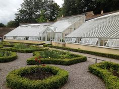 The new replacement of the wonderful Pinery Vinery at Fulham Palace by Alitex UK, via Flickr