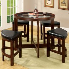 You'll love the Alchemist 5 Piece Counter Height Pub Table Set at Wayfair - Great Deals on all Furniture  products with Free Shipping on most stuff, even the big stuff.