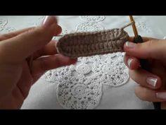 açıklamalı örgü bebek patiği modeli - YouTube