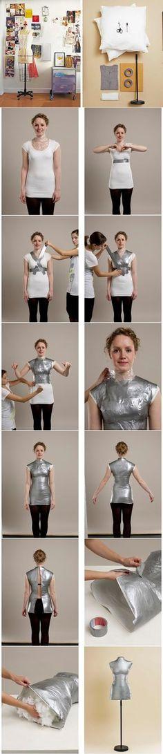 Comment faire son buste à sa taille pour des vêtements pil-poil adaptés...