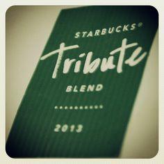 Tribute Blend, de mis cafés favoritos #starbucks #coffeeholic #caffè #espresso #coffee