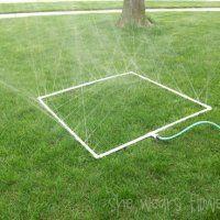 Homemade Sprinkler
