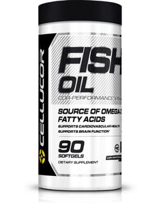 Fish Oil: Supports Cardiovascular Health & Brain Function