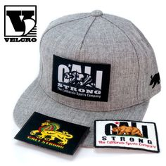 CALI Strong Tactical Hats with 16 different Velcro Morale Patches Hat Patches, Velcro Patches, Tactical Patches, Morale Patch, Snapback Cap, Different Styles, Cali, Baseball Hats