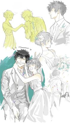 i can't see this actually happening, but this is very cute and sweet Anime Couples Manga, Anime Guys, Manga Anime, Anime Art, Kogami Shinya, Animation Storyboard, Psycho Pass, Otaku, Anime Demon