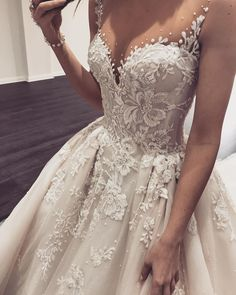 The classic A line dress is one of the bridal gown. Of all the wedding dresses on the marketplace today A line bridal gown are the best. Princess Wedding Dresses, Dream Wedding Dresses, Bridal Dresses, Wedding Gowns, Prom Dresses, Formal Dresses, Wedding Bride, Wedding Ceremony, Modest Wedding