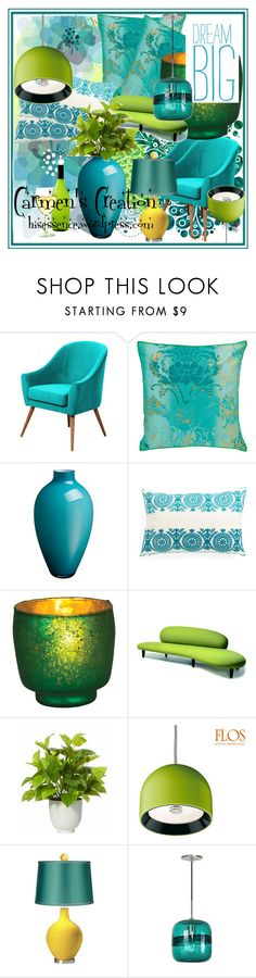 """Carmen's Creation Home"" by carmen-ireland ❤ liked on Polyvore featuring interior, interiors, interior design, home, home decor, interior decorating, Designers Guild, Villeroy & Boch, Vitra and Vision"
