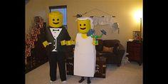 Lego couple Halloween costumes (via Imgur)