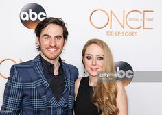 Actor <a gi-track='captionPersonalityLinkClicked' href=/galleries/search?phrase=Colin+O%27Donoghue&family=editorial&specificpeople=5844786 ng-click='$event.stopPropagation()'>Colin O'Donoghue</a> and his wife Helen O'Donoghue attend the 100th episode celebration of 'Once Upon A Time' at Storybrooke Cannery on February 20, 2016 in Vancouver, Canada.