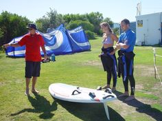 Getting the students prepared for the lesson! Picnic Blanket, Outdoor Blanket, Windsurfing, Water Sports, Kayaking, South Africa, Cape, Students, Mantle