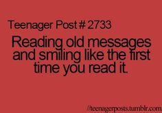 First TEENAGER Post   quote, smile, teenager post, teenagers quotes - inspiring picture on ...