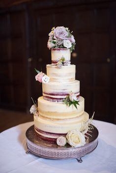 Andi Freeman naked wedding cake.  #GreatFosterswedding #GreatFosterphotographers #realwedding #weddingphotography #surrey #historicvenue #luxuryweddings #weddinginspiration #ideas #whiteflowers #theme #style #realwedding #tithebarn #barn #steelgrey #decor  #ideas #weddingcake #nakedcake #bestweddingphotographers #stylish Great Fosters, Best Wedding Photographers, Surrey, Luxury Wedding, White Flowers, Real Weddings, Wedding Cakes, Wedding Flowers, Naked