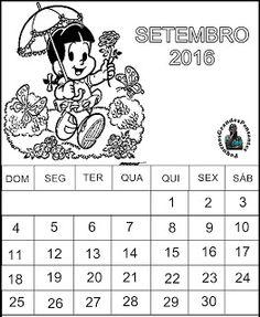 Calendário Setembro 2016 para imprimir
