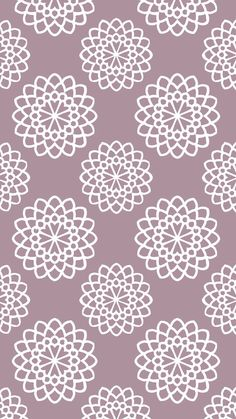 Delicate lace looking wallpaper for iPhone