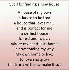 Find a House Spell