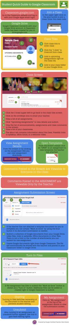 Student Quick Sheet to Google Classroom Alice Keeler