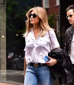 Jennifer Aniston Walked Right Into Fall in Her Favorite Summer Shoes
