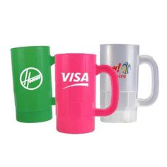 Worried about broken glass at a rowdy Oktoberfest celebration? Our plastic reusable beer steins are just the solution!