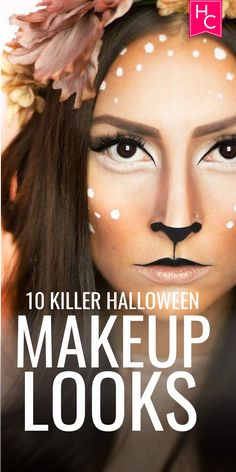 10 Killer Makeup Looks for Halloween | halloween | halloween costumes | halloween ideas | bff halloween ideas | halloween 2017 | makeup | halloween makeup