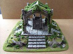Vampire Count's Tomb 28mm Table Top Wargaming Terrain | eBay