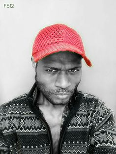 Black Man & Red Cap  #the_512thmansjournal #redcap #casual #simple #streetstyle #streetwear #dapper #dope #apparel #dailyfashion #menswear #menslifestyle