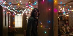 Netflix's super successful series Stranger Things is many things — an ode to classic scary movies, an fashion spectacle, and a social media juggernaut. People love Stranger Things, which is exactly why you should probably get on finding some… Stranger Things Netflix, Serie Stranger Things, Stranger Things Have Happened, Stranger Things Aesthetic, Stranger Things Season, Stranger Things Christmas Lights, Stranger Things Lights, Series Quotes, Tv Series