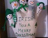 IRISH  You A Merry Christmas Snowmen