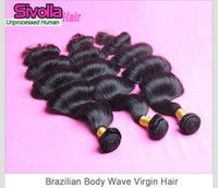 Unprocessed Brazilian Human Hair, Can Be Dye Any Color, No Sh...