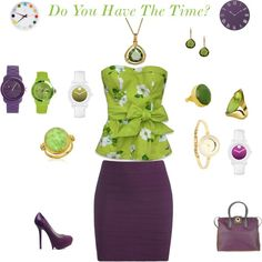 Do You Have The Time?, created by karol-roo on Polyvore