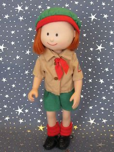 """Madeline Clothing Doll clothes Snow Day Play Clothes 8"""" Rare"""