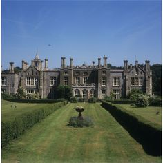 Cromer Hall, Norfolk, England built in 1829 by architect William Donthorne. Visited by Sir Arthur Conan Doyle, it is believed he based his book Hound of the Baskerville's on 'Black Shuck' the Hell Hound of Norfolk.