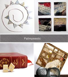 Art and home decor by Palimpsestic on Etsy