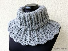 Ravelry: Neck Warmer for Women and Girls pattern by Lyubava Crochet