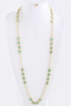 Square Link Necklace Set * More Color Options – House of Taylor