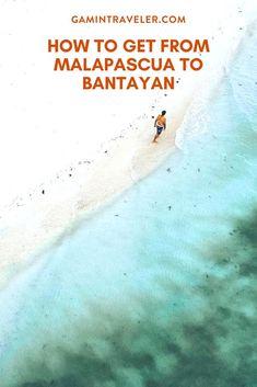How To Get From Malapascua to Bantayan Island, the Philippines #cebu #malapascua #bantayan #visayas #moalboal #philippines #visitcebu #oslob via @gamintraveler